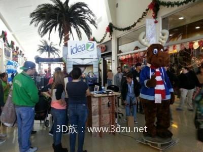 設在墨西哥購物商場的3D打印店Ideaz3D
