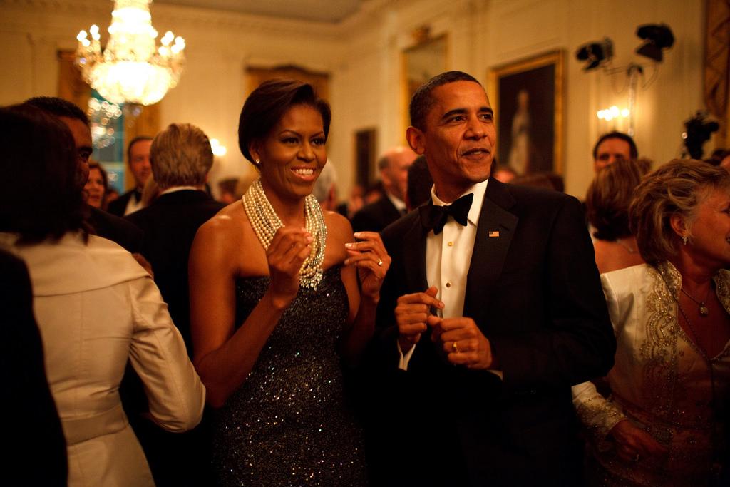 歐巴馬夫婦將與 Netflix 合作拍攝影集。(圖片來源:flickr )